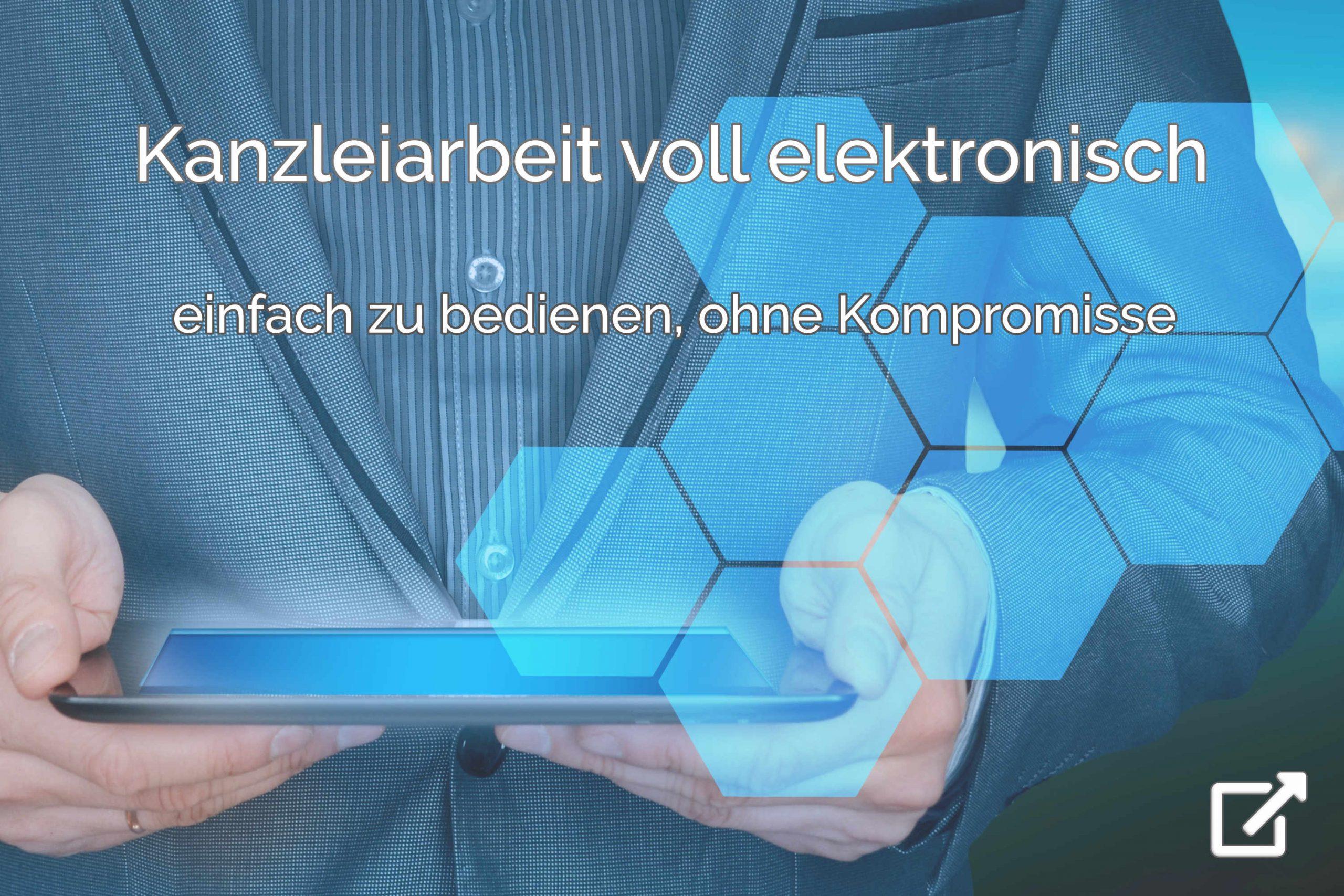 Kanzleiarbeit digital und voll elektronisch - einfach zu bedienen - elektronische Kanzleiarbeit mit Dokumenten, Terminen+Fristen, Wiedervorlagen, E-Mail und in der Buchhaltung (Kanzleisoftware Digitalisierung)