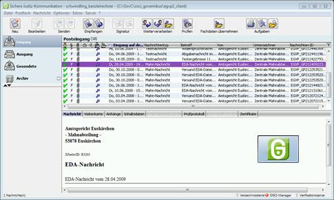 Governikus Communicator Justiz Edition - komfortable Alternative für das elekrtonische Mahnverfahren (EDA) auch nach dem 1.1.2018