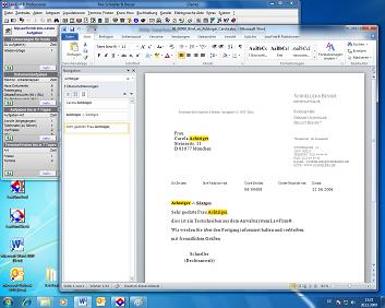 Office 2010 kompatibel: Kanzleisoftware LawFirm schon mit der Beta Version erfolgreich getestet; Office ist nun freigegeben