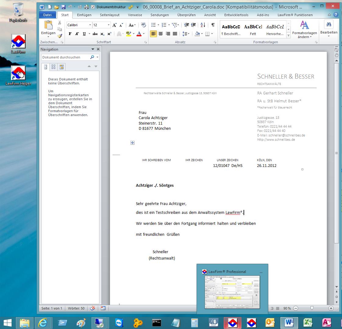 Testsieger: Word-Vorlagen, Briefkopf und Briefköpfe für Automatik ...