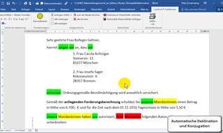 Anwaltssoftware Testsieger Lawfirm Video übersichten Lawfirm